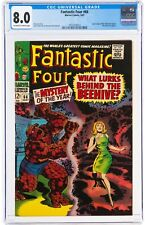 Fantastic Four #66 (Sep 1967, Marvel Comics) CGC 8.0 VF   2 part of Him Warlock