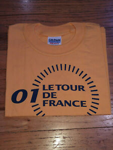 Official Tour de France T-Shirt New: Youth Medium (Kids) 7-8
