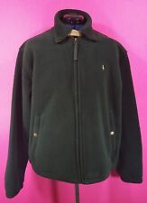 Polo Ralph Lauren Green Polartec Fleece Jacket Size Medium M