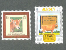 Cows-The Jersey Cow 2 values mnh-Farm Animals