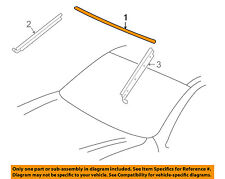 TOYOTA OEM 01-07 Sequoia Windshield-Upper Molding Trim 755310C020