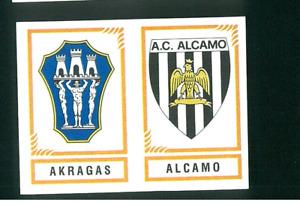 Fig. Calciatori Panini 1982-83 N.592 Scudetti Akragas/Alcamo Nuova!!