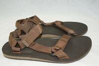 Teva 1004006 Original Universal  Men's Size 12 Brown Ankle Strap Sport Sandals