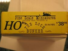 Fine Scale Miniatures - The Rock Bunker - Kit #165 - Ho scale
