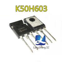 10PCS K50H603 New Best Offer IGBT TO-3P