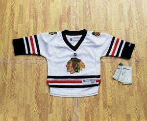 Chicago Blackhawks Reebok White NHL Hockey Jersey Size 12-24 Months Infant Baby