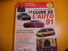 GUIDE AUTO JACQUES DUVAL 1991