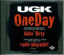 UGK: One Day PROMO w/ Artwork MUSIC AUDIO CD Acapella Instrumental Radio 42385