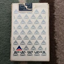 VINTAGE DELTA AIRLINES  PLAYING CARDS USED