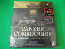 Panzer Commander World War II Tank Simulator Game 1998 USA Made. PC