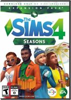 Brand New Sealed The Sims 4: Seasons Expansion Pack Windows or MAC PC game