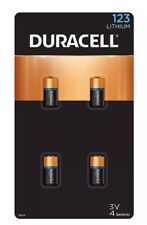 Duracell Ultra Lithium 123 3V Batteries (4 pack)