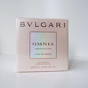 BVLGARI OMNIA Crystalline Eau De Parfum 65ml EDP Spray Authentic Brand New