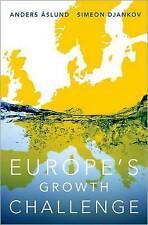 Desafío de crecimiento de Europa por Simeón djankov, Anders Aslund (tapa Dura, 2017)