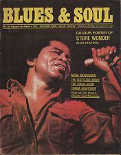 James Brown Blues & Soul Issue 103 1973     Stevie Wonder    Donna Hightower