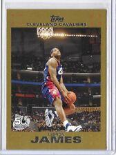 2007-08 Topps LeBron James Cavs Gold Base #23 /2007