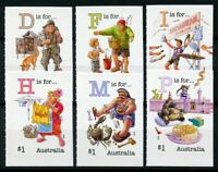 Australia Cultures Stamps 2019 MNH Fair Dinkum Alphabet Pt 5 Birds 6v S/A Set