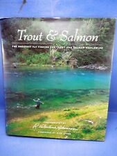 Trout And Salmon Fly Fishing Worldwide - Very Large Hardcover with Dust Jacket