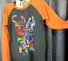 Boys T-shirt Skylanders Giants grey orange long sleeve XXL 18/20  new,