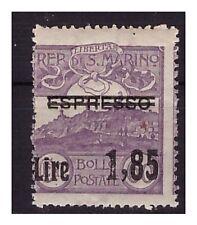 SAN MARINO 1926 -  ESPRESSO  SOPRASTAMPATO  L. 1,85  su   60 Cent.   NUOVO    **