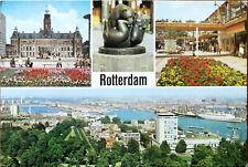Rotterdam, Holland / Netherlands Euro Color Cards Vintage Postcard