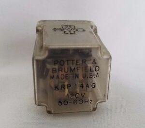 Potter & Brumfield KRP-14AG Relais 120V KRP14AG