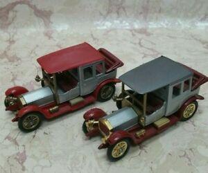 Set of 2  LESNEY MODELS OF YESTERYEAR Y7-3 1912 ROLLS ROYCE  scale 1:48