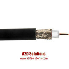 Belden 1694A - 250 feet - HD/SDI 18AWG RG6 Serial Digital Coaxial Cable - BLACK