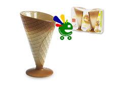 Sei coppe gelato misura diametro 100 mm h 166 mm  made in italy Bormioli Rocco