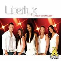 LIBERTY X - A Night To Remember - Deleted 2005 UK CD