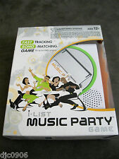 I List Music Party Game & I-Pod Speaker by Hasbro-Brand New in Factory Box!