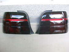 Schwarze Rückleuchten Lasierung BMW E36 Compact-Coupe-Touring-Limo Rückleuchten