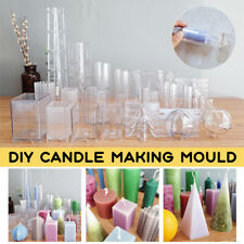 Acrylic Candle Mould Handmade Craft Candle Making Mould Model Reusable Tools