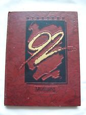 1992 LINCOLN HIGH SCHOOL YEARBOOK SAN FRANCISCO, CALIFORNIA   MUSTANG