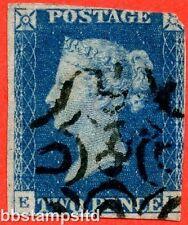 """SG. 5 F. """"EI"""". 2D blu. un ottimo esempio USATA. molto RARO 8 in maltese cross."""