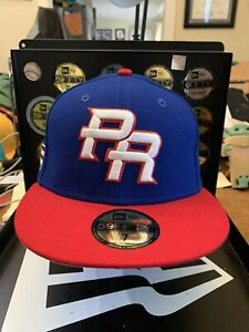 Puerto Rico New Era 59FIFTY 2017 World Baseball Classic Fitted Hat Size 7