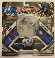 Monsuno BOOST AIRSWITCH Core Tech Team Pack New Card & Figure Toy #33 # 34