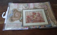 Finished cross stitch Lanarte Lifestyles 44041 34126 44x34 cm Nursery Bears