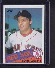 Roger Clemens 1985 Topps Baseball Rookie Card RC # 181 Boston Red Sox HOFer NM !