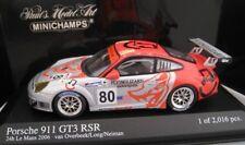 PORSCHE 911 gt3 RSR LEMANS 2006 limita Minichamps 1:43 OVP NUOVO