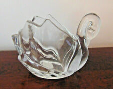 Crystal Swan Votives Shannon by Godinger  New with Tag
