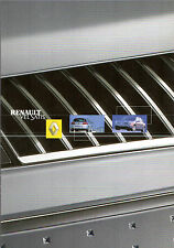 RENAULT VEL SATIS 2002 mercato britannico mailer FOLDOUT SALES BROCHURE