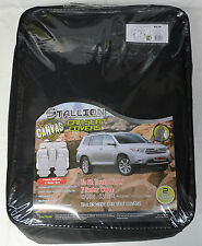 FULL CAR PACK WATERPROOF CANVAS CAR SEAT COVERS TOYOTA KLUGER 7 SEATER 10-14