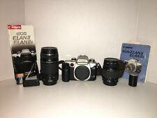 Canon EOS Elan2e 35mm Camera & Canon Ultrasonic 75-300mm, Ultrasonic 28-80mm Lot