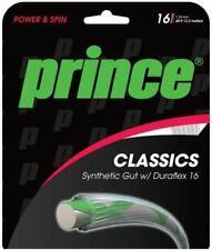 (0,58€/m) Prince Synthetic Gut Duraflex 16 White 2 x 12 m Tennissaiten Strings