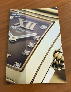 Patek Philippe Watch New Models for 2009Brochure Booklets Book 4907/1