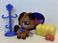 Authentic Littlest Pet Shop - Hasbro LPS - HORSE  #627 W/ Accessories