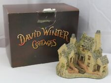 Vintage David Winter Cottages 1983 Fisherman's Wharf with box