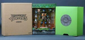 2020 Super 7 Teenage Mutant Ninja Turtles Ultimates Leonardo Wave 2 TMNT NEW