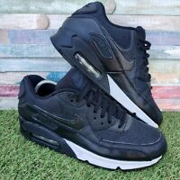 Nike Air Max 90 Black Ladies Trainers UK6 US8.5 EU40 Anthracite White 325213-033